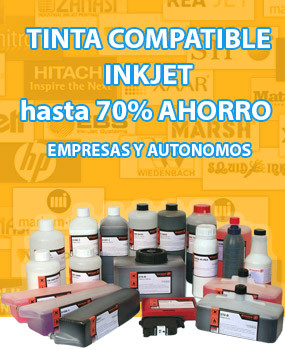 Tinta compatible inkjet